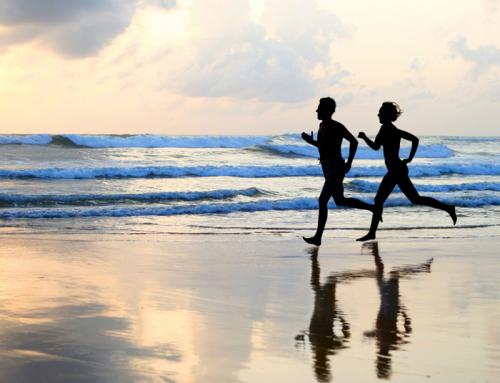 Correr por la playa puede provocar lesiones y sobrecargas